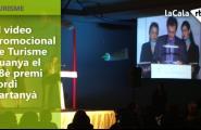 El vídeo promocional de Turisme guanya el 18è premi Jordi Cartanyà