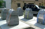 Els contenidors soterrats entren en funcionament a principis d'any