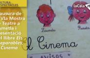 Clausura de la VIa Mostra de Teatre a l'Ametla de Mar i presentació del llibre Els Inseparables, El Cinema