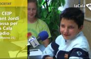El CEIP Sant Jordi passa per la Cala Ràdio (Dimecres 21)
