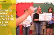 L'Escola de Música celebra el fi de curs amb un gran concert