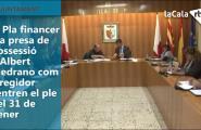 El Pla financer i la presa de possessió d'Albert Medrano com a regidor centren el ple del 31 de gener