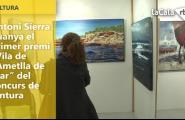 Antoni Sierra guanya el primer premi \'Vila de l'Ametlla de Mar\' del concurs de pintura