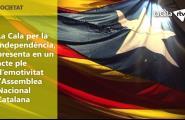 La Cala per la Independència, presenta  en un acte ple d'emotivitat l'Assemblea Nacional Catalana