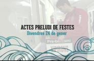 Salutació alcalde, entrevista a la regidora i actes preludi Candelera 2014 ( 1a part )