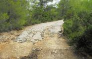L'Ajuntament encara la darrera fase dels arranjaments a camins malmesos pels aiguats del 17 de setembre del 2010