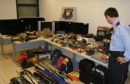 Els Mossos d'Esquadra desmantellen un grup que va cometre més de 40 robatoris en habitatges del Baix Ebre