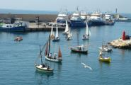 L'Ametlla de Mar acull la IX Trobada de Vela Llatina del Golf de Sant Jordi