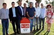 Els alcaldes afectats per l'N-340 es reuniran dimarts amb el subdelegat del Govern a Tarragona