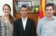 Visita a la Secretaria General de l'Esport