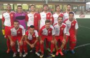 Primer partit pretemporada del primer equip de futbol de la SCER