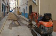 Enllestides les obres de millora del carrer Sant Antoni