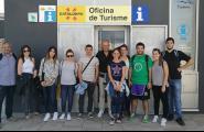 Els alumnes de Turisme de la URV visiten l'Oficina de Turisme de l'Ametlla de Mar
