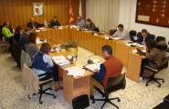 Un ple amb un intens debat entre el govern i l'oposició