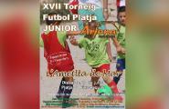 Obertes les inscripcions per a Torneig de Futbol Platja Júnior