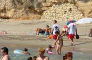 Bon balanç de Creu Roja en un estiu amb gran afluència a les platges