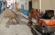 El carrer Sant Antoni veurà substuït totalment el seu clavegueram en els pròxims dies