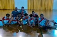 El juvenil de bàsquet es proclama Campió Territorial
