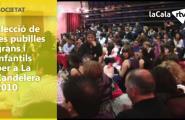 Elecció de les pubilles grans i infantils per a La Candelera 2010