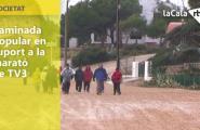 Caminada popular en suport a la marató de TV3