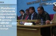 Les institucions exigeixen a la ministra Espinosa respecte per l'encerclament català de la tonyina