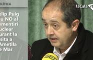 Felip Puig diu NO al cementiri nuclear durant la visita a l'Ametlla de Mar