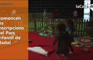 Comencen les inscripcions pel Parc Infantil de Nadal
