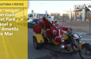 Arriba el Pare Noel a L'Ametlla de Mar