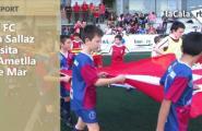 El FC La Sallaz visita l'Ametlla de Mar