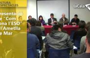 Presentació de 'Com sona l'ESO' a l'Ametlla de Mar