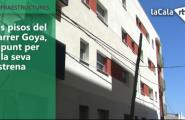 Els pisos del carrer Goya, a punt per a la seva estrena