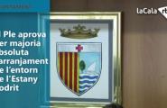 El Ple de l'ajuntament aprova per majoria absoluta l'arranjament de l'entorn de l'Estany Podrit