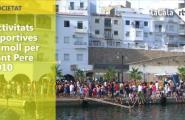 Activitats esportives al moll per Sant Pere 2010