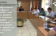 L'Ajuntament aprova en plenari l'aval que ajudarà als ciutadans a poder aconseguir finançament per obtenir un pis al Carrer Goya