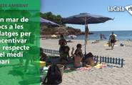 Un mar de jocs a les platges per incentivar el respecte pel medi marí