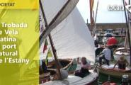 V Trobada de Vela Llatina al port natural de l'Estany
