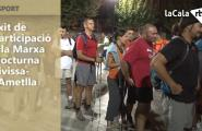 Èxit de participació a la Marxa Nocturna Tivissa-l'Ametlla