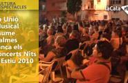 La Unió Musical Jaume Balmes tanca els concerts Nits d'Estiu 2010