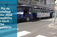 El Pla de Mobilitat Estiu 2010 possibilita un nucli urbà equilibrat