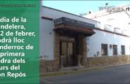 El dia de la Candelera, el 2 de febrer, tindrà lloc l'enderroc de la primera pedra dels murs del Bon Repòs