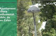 L'Ajuntament millora l'enllumenat públic de Tres Cales