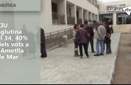 CIU aglutina el 34, 40% dels vots a l'Ametlla de Mar