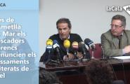 Des de l'Ametlla de Mar els pescadors ebrencs denuncien els vessaments reiterats de fuel