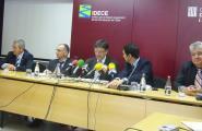 Antoni Montagut, Vicepresident primer del consell rector de l'IDECE