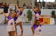 L'Ametlla de Mar acull la 3ª jornada intercomarcal de gimnàstica rítmica dels JEEC amb la participació de més de 150 gimnastes