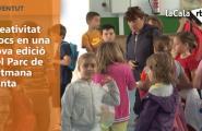 Creativitat i jocs en una nova edició del Parc de Setmana Santa