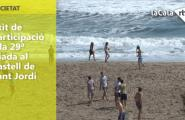 Èxit de participació a la 29ª Diada al Castell de Sant Jordi