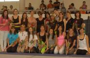 La 13ª trobada de gimnàstica rítmica del Baix Ebre a l'Ametlla de Mar dedicada als països del món i en especial al Japó