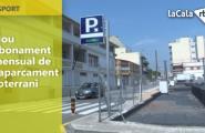 Nou abonament mensual de l'aparcament soterrani