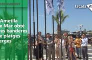 L'Ametlla de Mar obté tres banderes de platges verges